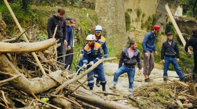 В Дагестане нашли тело пропавшего человека после схода селя