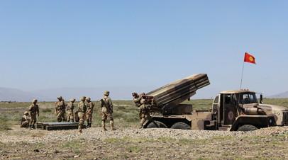 Учение Коллективных сил быстрого развёртывания Центрально-Азиатского региона ОДКБ (КСБР ЦАР) «Рубеж-2021»