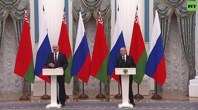 Россия здесь ни при чём: Путин  о миграционном кризисе на границах Белоруссии и стран ЕС