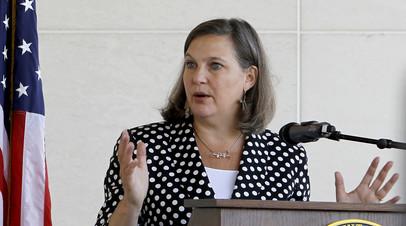 Нуланд заявила о готовности США присоединиться к нормандским переговорам