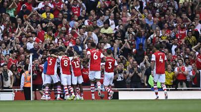 Арсенал одержал первую победу в сезоне АПЛ после трёх поражений на старте