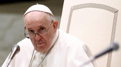 Папа Римский рассказал о своём самочувствии