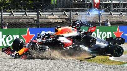 Подиум пилотов McLaren, авария Ферстаппена и Хэмилтона и сход Мазепина: чем запомнился Гран-при Италии в Формуле-1
