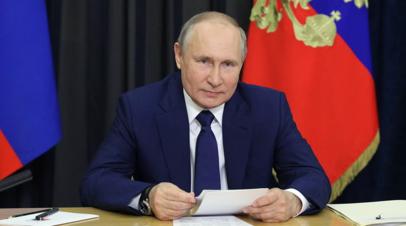 Песков сообщил, что Путин чувствует себя хорошо
