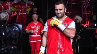 Российский боксёр Мурат Гассиев