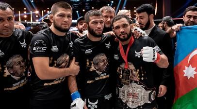 Хабиб Нурмагомедов, Шамиль Завуров и Нариман Аббасов