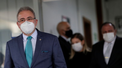 Глава Минздрава Бразилии заболел коронавирусом