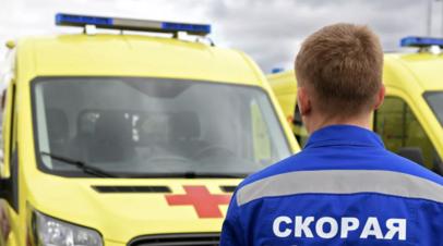 В Калужской области 16 человек пострадали в ДТП с микроавтобусом