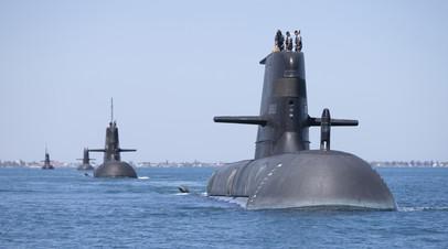 Подлодки австралийских ВМС