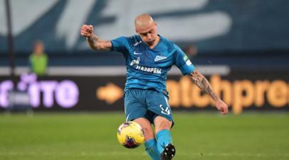 Два игрока Зенита вошли в команду недели Лиги чемпионов