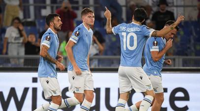 Лацио открыл счёт в матче с Локомотивом