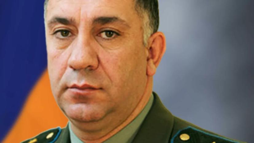 В Армении задержан замглавы Генштаба ВС Степан Галстян