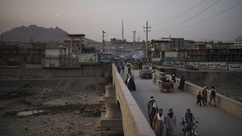 Взрыв произошёл рядом с мечетью в Кабуле во время церемонии прощания с матерью Муджахида