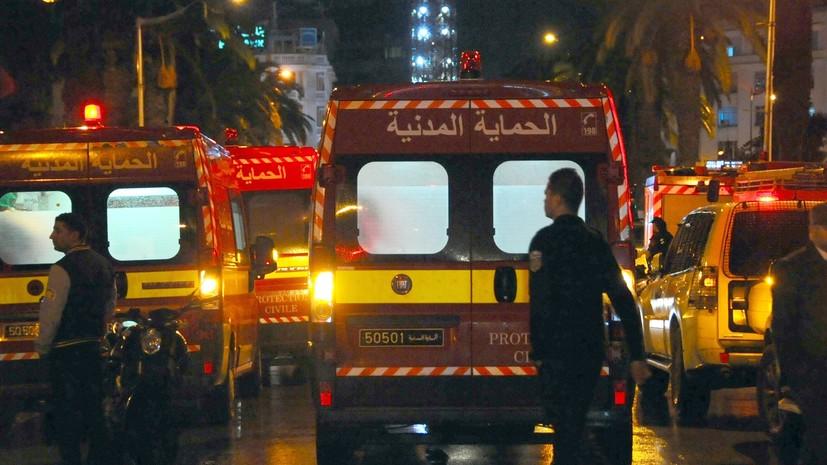 В Тунисе в результате столкновения двух поездов пострадали 30 человек