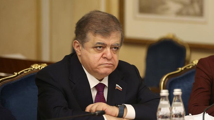 Сенатор Джабаров назвал циничным новый призыв США к санкциям против России
