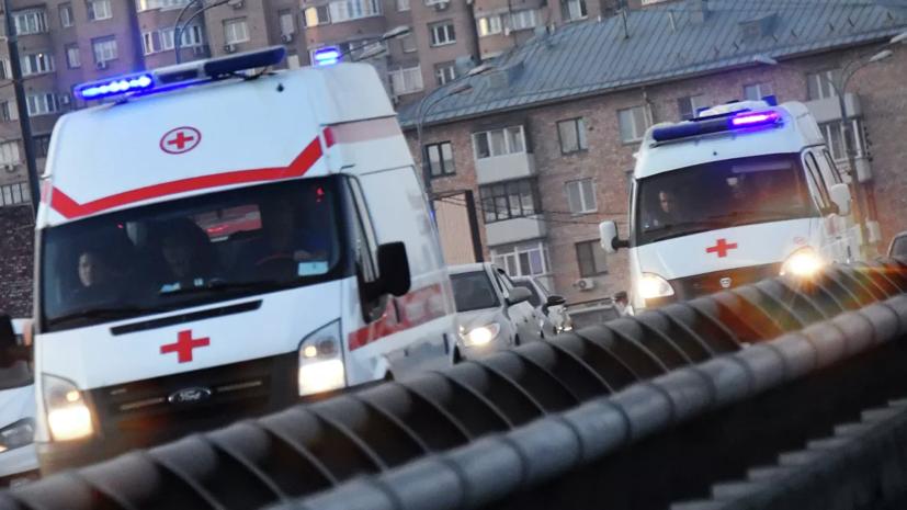 В ДТП с маршруткой в Подмосковье пострадали шесть человек