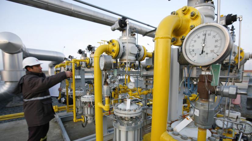 Цены на газ в Европе снизились до $1000 за тысячу кубометров