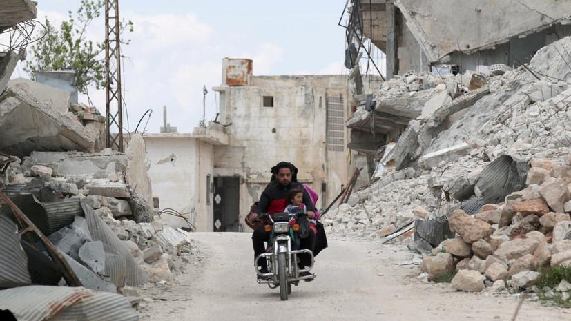 Террористы совершили 5 обстрелов в идлибской зоне деэскалации в Сирии