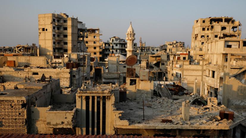 ПВО Сирии отразила ракетную атаку в небе над Хомсом