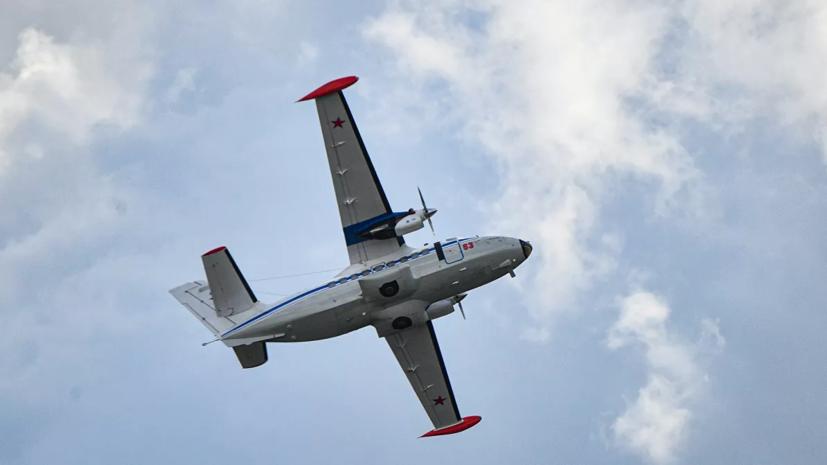 В МЧС рассказали о спасении семи человек с упавшего в Татарстане L-410