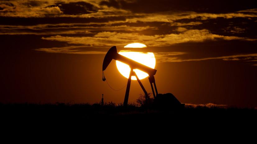 Впервые за три года: цена нефти Brent превысила $84 за баррель