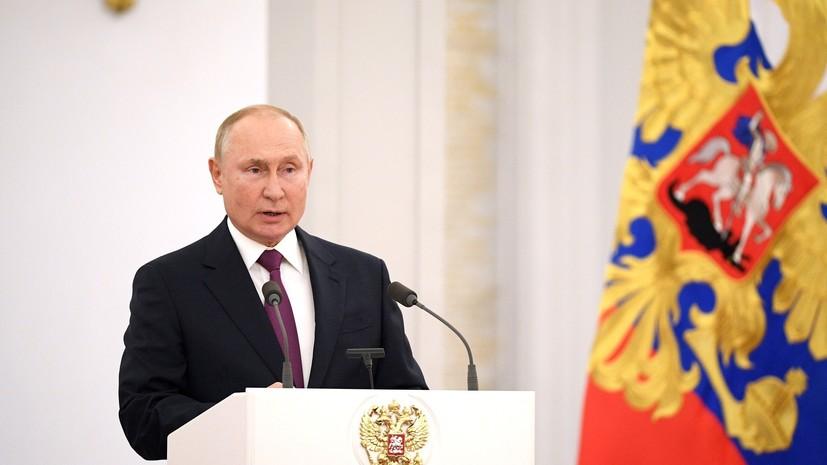 «Главный наш враг — это низкие доходы граждан»: Путин рассказал о планах выделить 41,5 трлн рублей на поддержку россиян