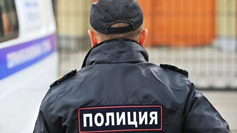 Угрожавший полицейским оружием в Москве мужчина был пьян