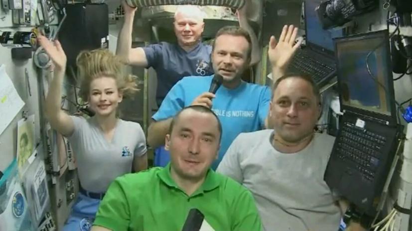 В «Роскосмосе» рассказали о подготовке Пересильд и Шипенко к возвращению на Землю