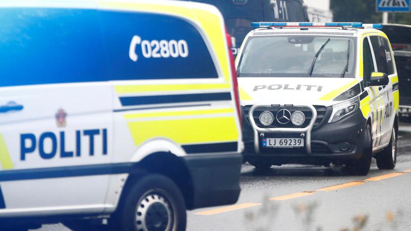 В Норвегии несколько человек погибли при нападении вооружённого мужчины