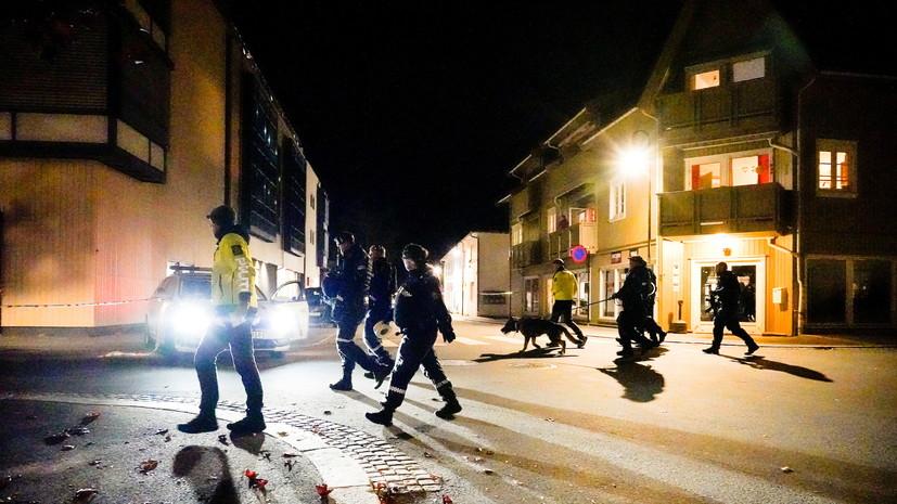 Число жертв нападения вооружённого мужчины в Норвегии достигло пяти