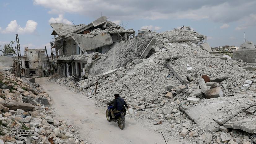 Террористы совершили восемь обстрелов в идлибской зоне деэскалации в Сирии