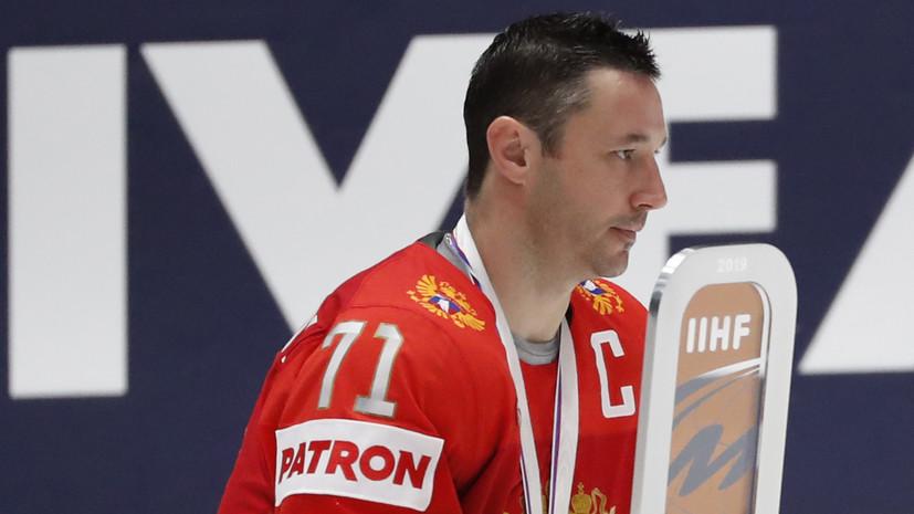 Агент Ковальчука отреагировал на информацию о назначении хоккеиста менеджером сборной России