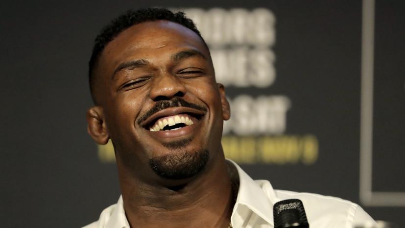 Экс-чемпион UFC Джонс пообещал бросить пить