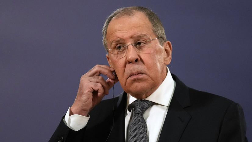 Лавров обсудил с главой МИД Белоруссии работу «КП в Беларуси»