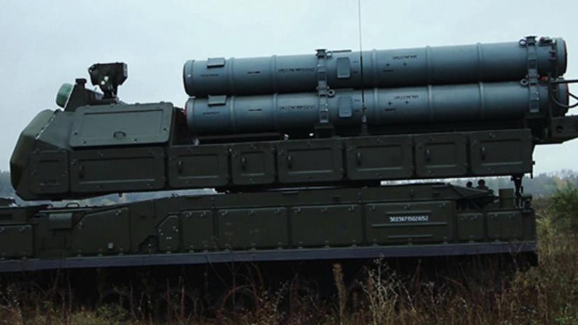 В Астраханской области прошли учения с применением новейших комплексов «Бук-М3»