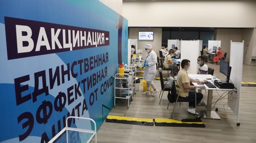 «Безответственно не делать прививку»: Песков прокомментировал возможность ужесточения мер по борьбе с COVID-19 в России