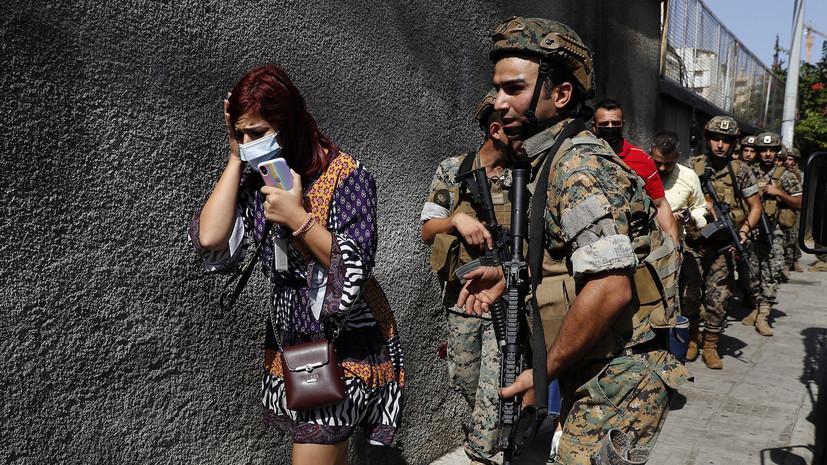 Al Mayadeen: в Ливане установили личности виновных в стрельбе в Бейруте
