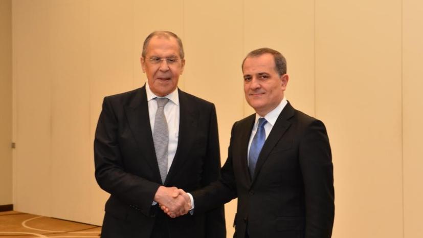 В Минске прошла встреча глав МИД Азербайджана, Армении и России