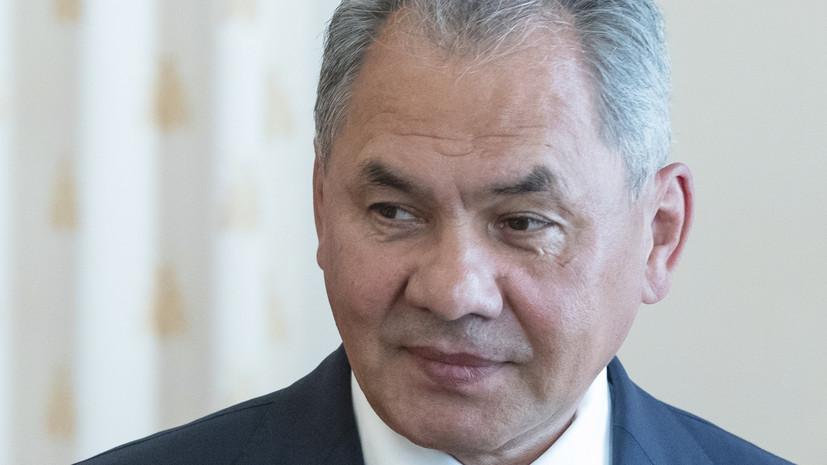 Шойгу прибыл в Воронеж для проверки выполнения гособоронзаказа со стороны ПАО «ВАСО»