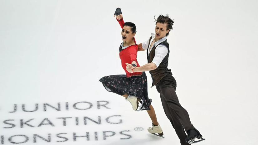 Шанаева и Нарижный идут третьими на турнире в Будапеште по фигурному катанию