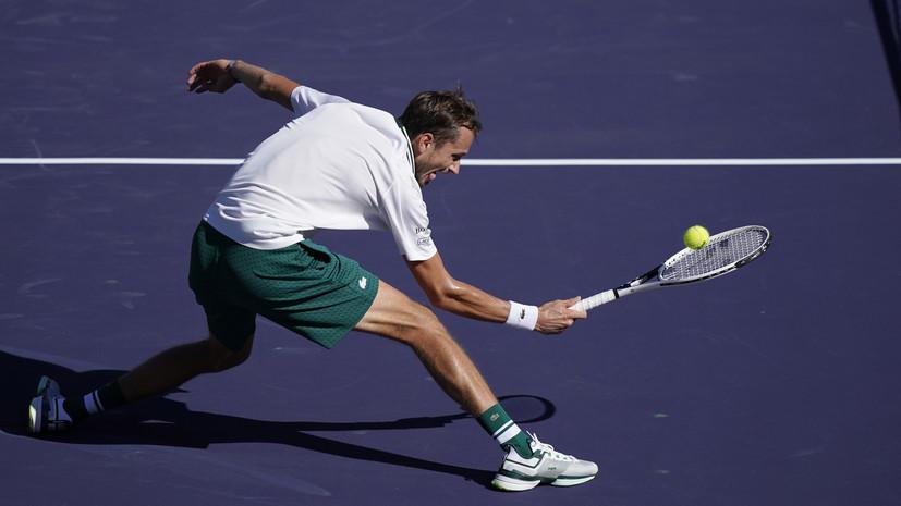Тарпищев: Медведев примет участие в Кубке Кремля по теннису