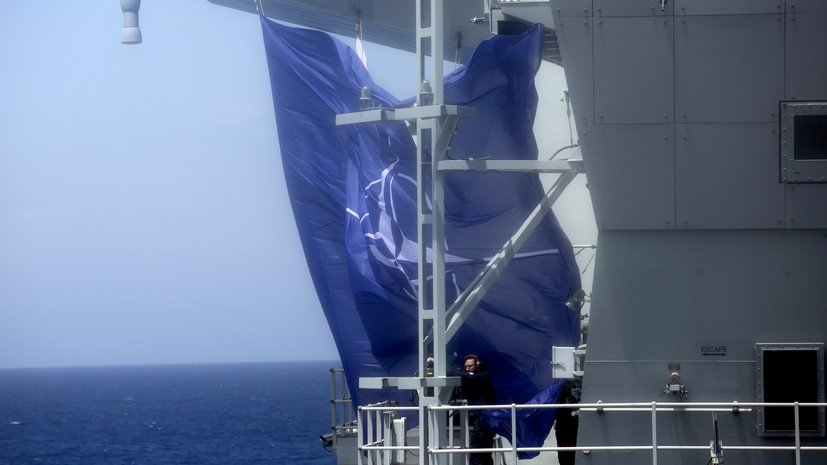 МИД России: в НАТО намерены превратить Чёрное море в арену конфронтации