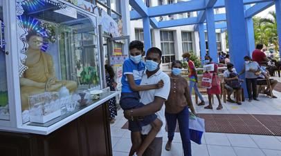 Власти Шри-Ланки ослабили ряд коронавирусных ограничений