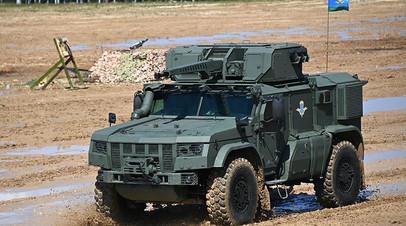 Бронеавтомобиль «Тайфун-ВДВ», на базе которого выполнен «Напарник»