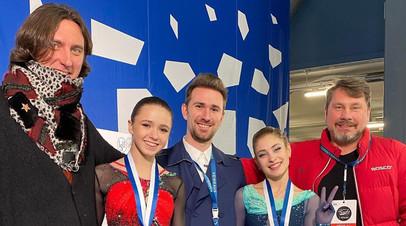 Глейхенгауз оценил выступление подопечных на Finlandia Trophy