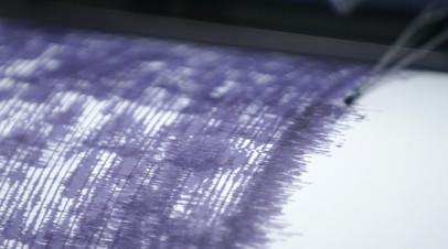 Землетрясение магнитудой 4,4 зафиксировано на Камчатке