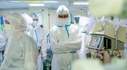 Мурашко: более 1,1 млн пациентов лечатся от коронавируса в России