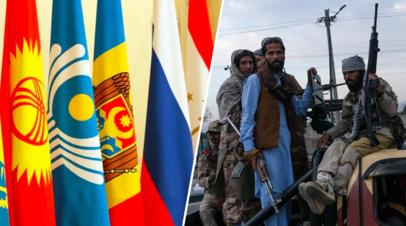 «Активизация совместных усилий»: как Россия и страны СНГ намерены взаимодействовать по афганскому вопросу