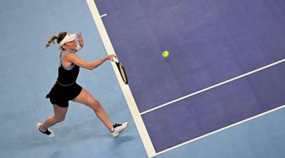 Александрова уступила Контавейт в финале Кубка Кремля