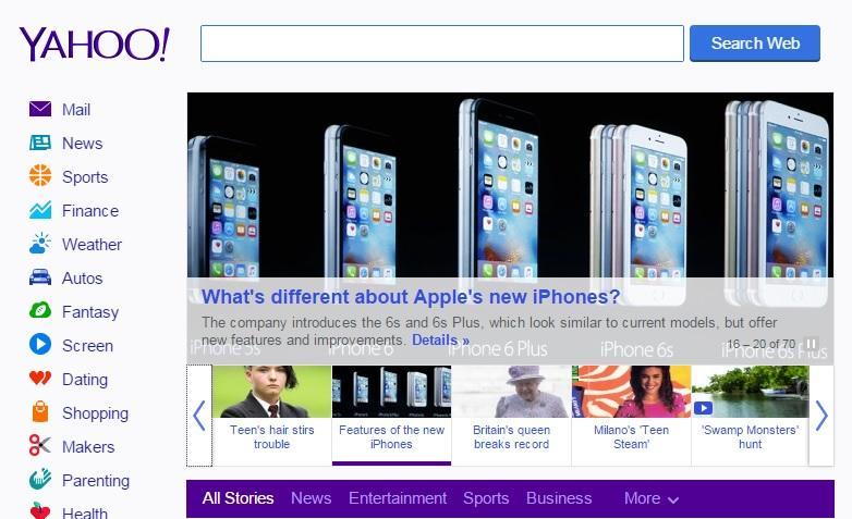 СМИ: Сервисы Yahoo сегодня будут заблокированы Роскомнадзором на территории России